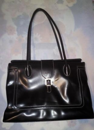 Стильная сумка для документов женская l.credi