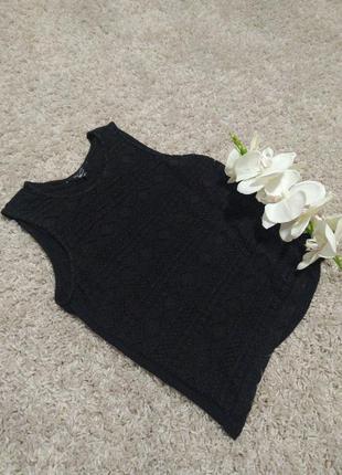 Ажурная  нарядная майка топ блуза