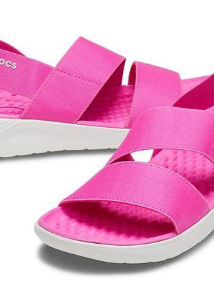 Crocs w8 38 / 39 новые женские босоножки сандалии