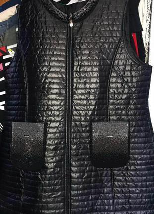 Женская жилет жилетка безрукавка куртка турция жіноча туреччина darkwin великого большого батал розміру размера 48 50 52 54 56 58 60 62 64 66 68