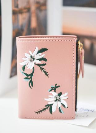 Красивий гаманець| вишивка едельвейси 🌸