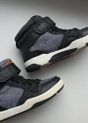 Осенние ботинки хайтопы h&m