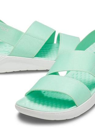 Оригинал новые женские босоножки сандалии crocs w7 37 38