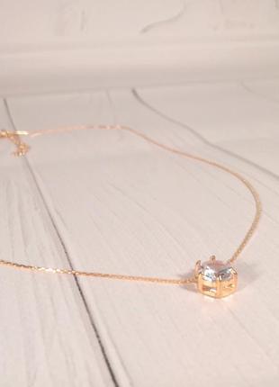Цепочка ожерелье чокер украшение на шею с подвеской