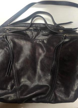 Шикарная сумка кожа francesco biasia
