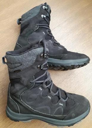 """Ботинки ботінки замшеві """"jack wolfskin"""" 37,5 р. (24,5 см)"""
