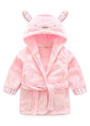 Халатик для девочки кролик