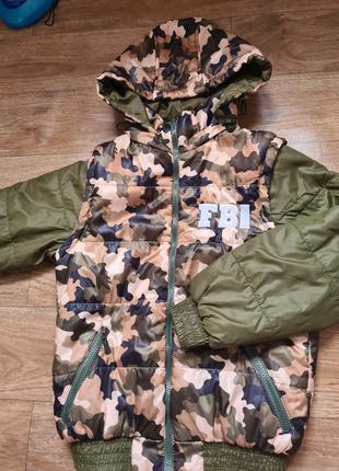 Курточка для мальчика курточка для подростка детская курточка куртка жилетка 2 в 1