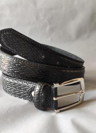 Мужской стильный  ремень kensington accessories.