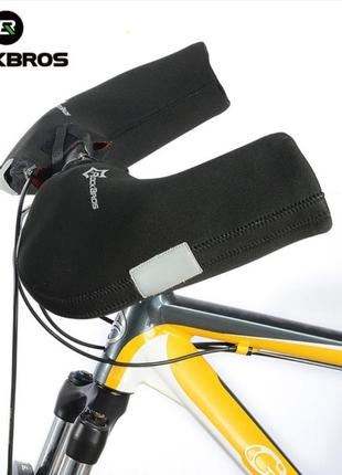 Велосипедные перчатки-муфты rockbros