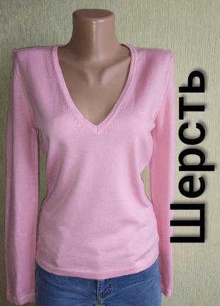 Стильный фирменный свитер, пуловер, италия, р.34,36