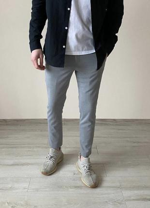 Серые брюки классические брюки серые штаны классические штаны