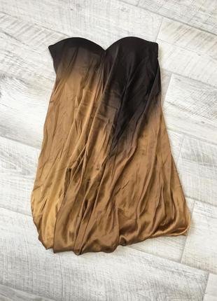 Платье шёлк jasmine di milo винтаж градиент туника
