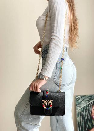 Сумка pinko black diamonds bag