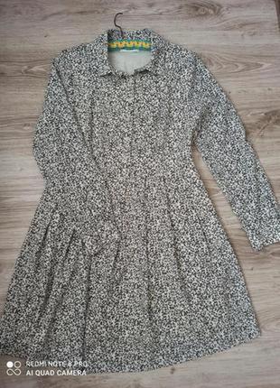 Платье в мелкий цветок essentiel antwerp оригінал essentiel