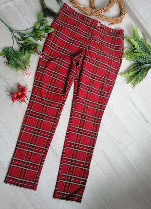 Штани в шотландську клітинку для новорічної фотосессії  / для новогодней фотосессии