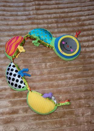 Гусеница развивающая игрушка