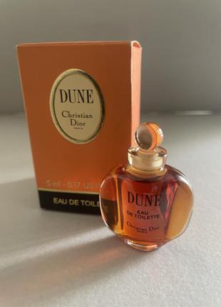Dior dune edt 5 ml