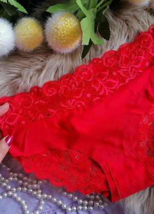 Изумительные фибровые трусики invisi han цвет красный
