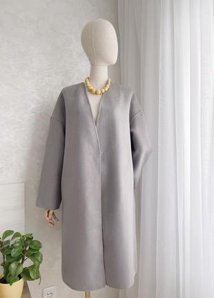 Пальто шерстяне пряме