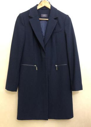 😍демисезонное синие пальто m&s (marks&spencer).