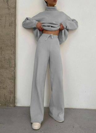 Костюм теплый, свитер + брюки — 490 грн