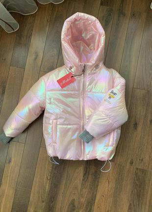 🍁демисезонная куртка хамелеон для девочки