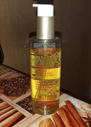 Clarins total cleansing oil  очищающее масло