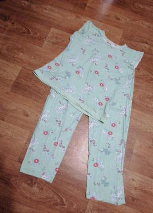 Женский костюм для дома и сна пижама