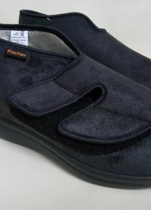 39 р. новые ортопедические диабетические туфли ботинки на широкую ногу fischer