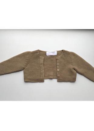 Zara детский вязаный кардиган свитер кофта джемпер