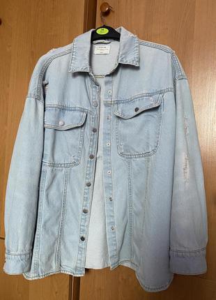 Джинсовка джинсовая куртка house