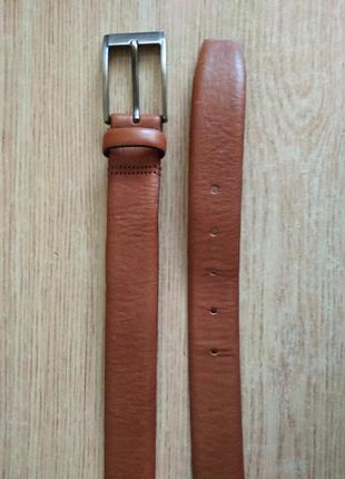 Качественный кожаный ремень next пояс брючный италия р. l