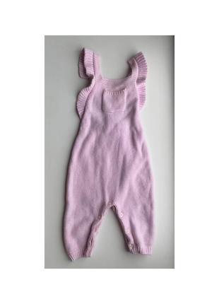 Детский вязаный комбинезон ползунки штаны боди