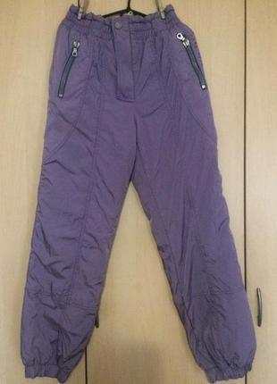 Теплые женские брюки