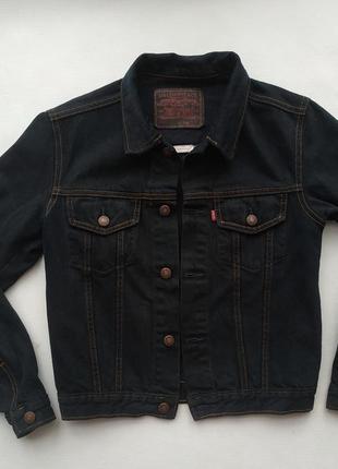 Джинсовая куртка levis made in usa/100% cotton