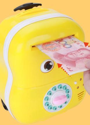 """Детский сейф – копилка с кодовым замком """"чемоданчик"""" 363-9а"""