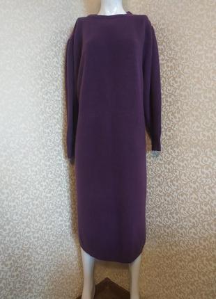 Платье из шерсти ламы lady h. peter hahn
