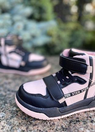 Ботинки для девочки / черевички для дівчинки