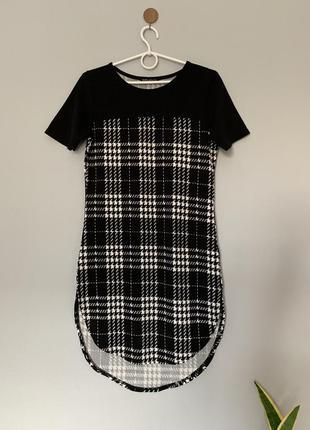 Платье миди фактурная ткань selected