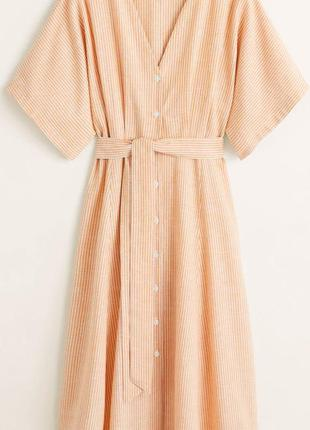 Платье миди mango