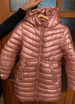 Пальто zara на 152 рост