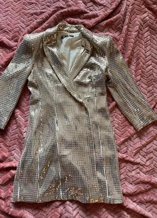 Платье пиджак от зара