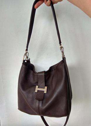 Кожаная сумка  borse in pelle италия