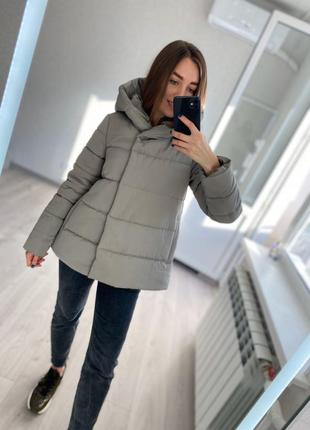 Свободная демисезонная осенняя куртка от производителя