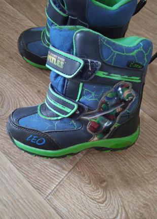 Зимние ботинки nickelodeon