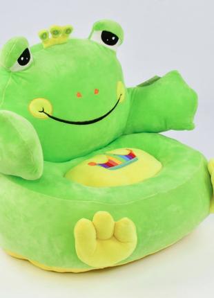 Детсоке мягкое кресло лягушка с 31198 яркое дополнение в детскую комнату