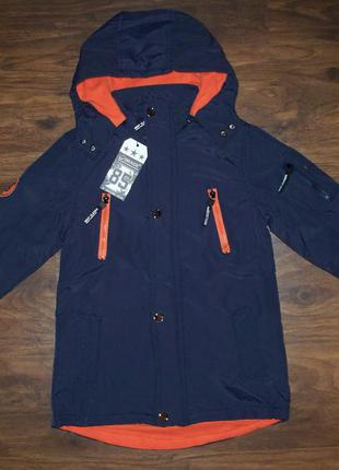 Куртка парка демисезонная (сезон весна-осень) для мальчиков 134-164 венгрия