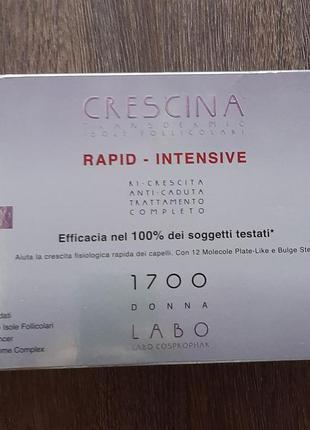 Капли для роста волос швейцарской фирмы labo crescina
