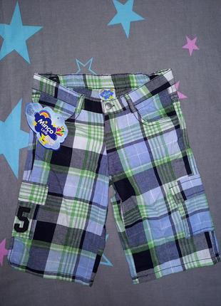 Удлиненные шорты на мальчика